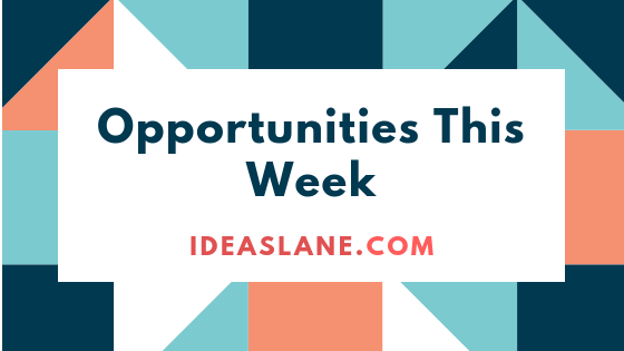Opportunities this week for African students
