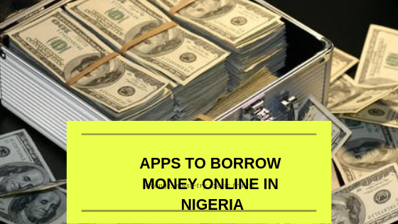Money in Niara notes borrowed online in Nigeria