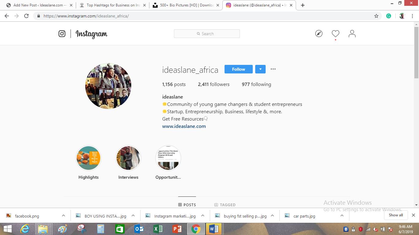 ideaslane profile picture on Instagram