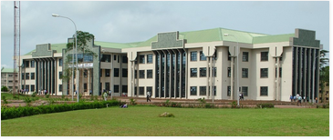 Library of university located in Ogun State