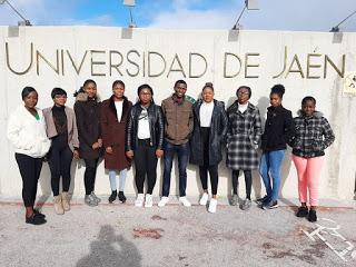 Nigerian students in Spain