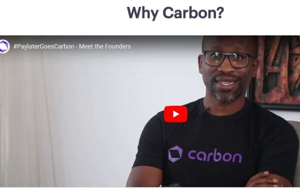 Carbon CEO CHijioke Dozie in an interview