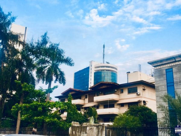 Office building of a beverage brand in Nigeria