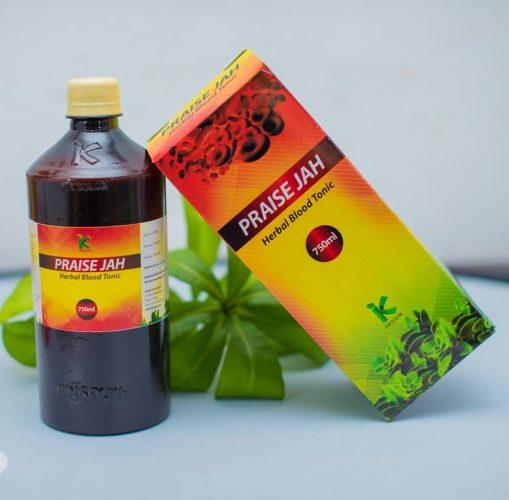 Praise Jah herbal blood tonic business in Nigeria