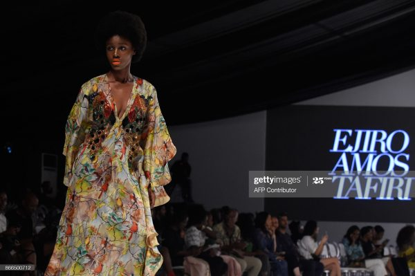a Fashion Designer in Nigeria at an event