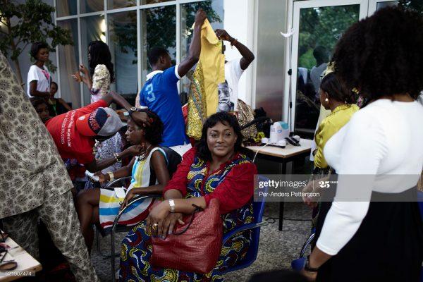 Busy Fashion design showroom in Nigeria