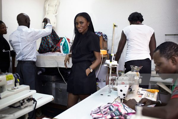 Female CEO of a fashion school in Nigeria