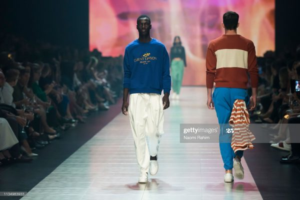 A boy becomes a successful model in Nigeria
