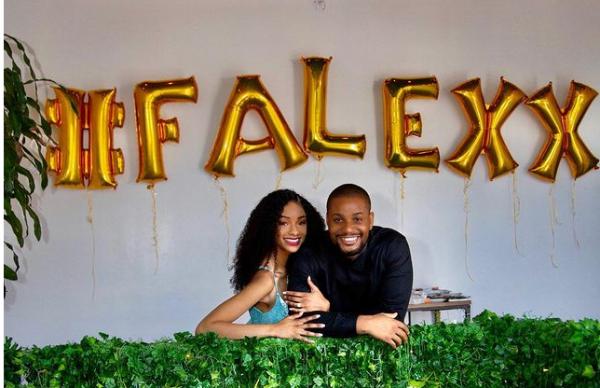 Alex Ekubo Proposes girl friend Fancy