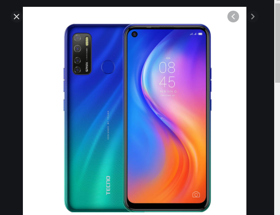 Best low-priced phones in Nigeria for students in a shop