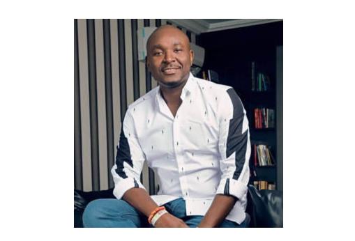Akin Alabi CEO of NairaBet in a T-shirt