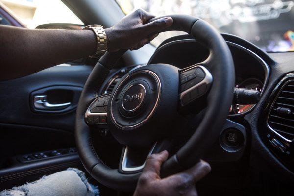 Uber driver in Nigeria