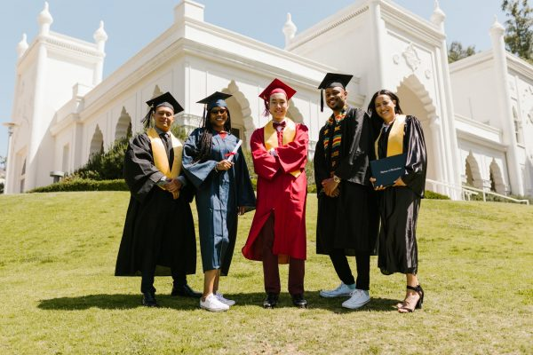 successful students during graduation