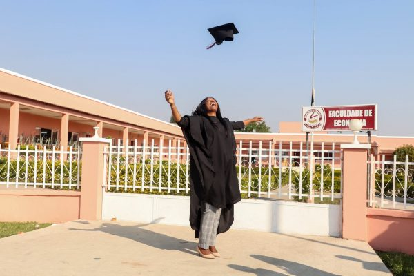 Lady earns online universities degree as a student in Nigeria