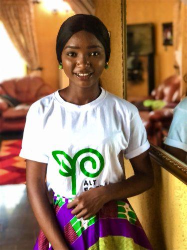 Comfort Tolulope Oladeji founder of Alt food