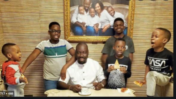 Obi Cubana and his children